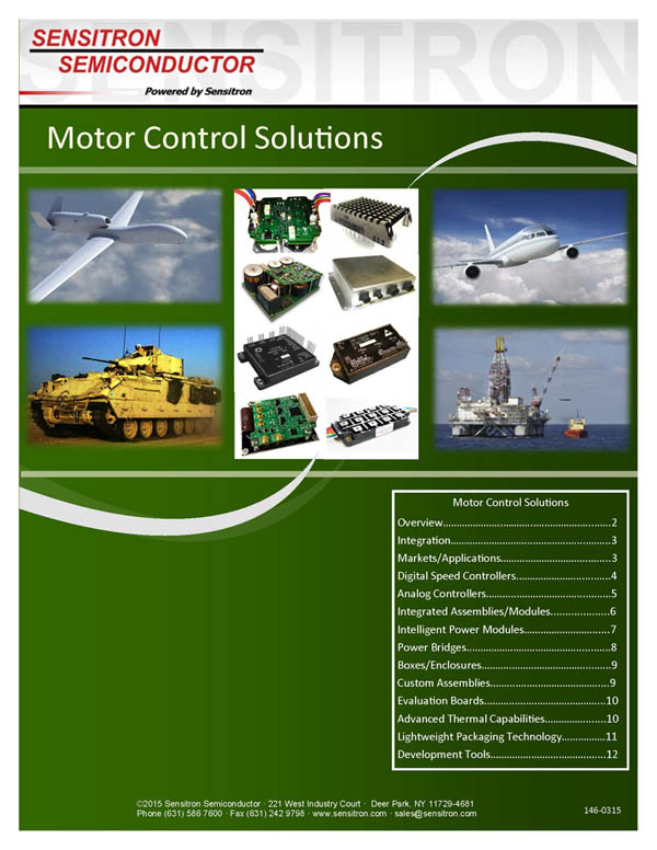 Motor Control Solutions